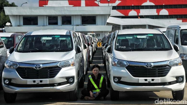 Ekspor mobil Avanza (Foto: Pradita Utama)