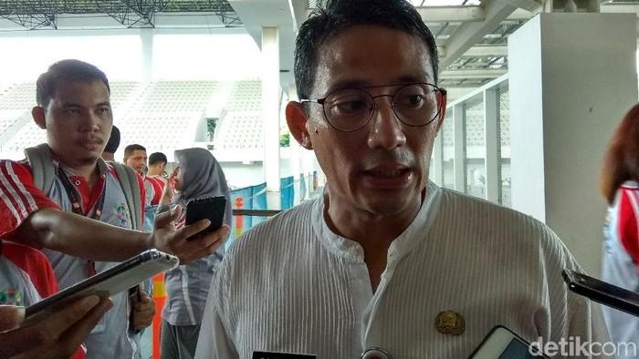 Foto: Wakil Gubernur DKI Jakarta Sandiaga Uno (Yulida-detikcom)