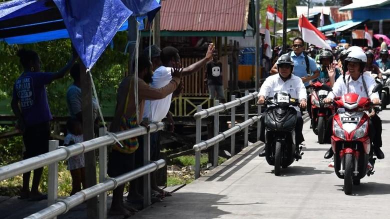 Motor Listrik yang Dipakai Jokowi Cuma Ada di Papua, Ini Alasannya Foto: Dok. Biro Pers Setpres