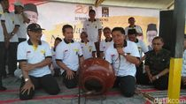 Di Pati, Presiden PKS Resmikan Gardu Khidmat