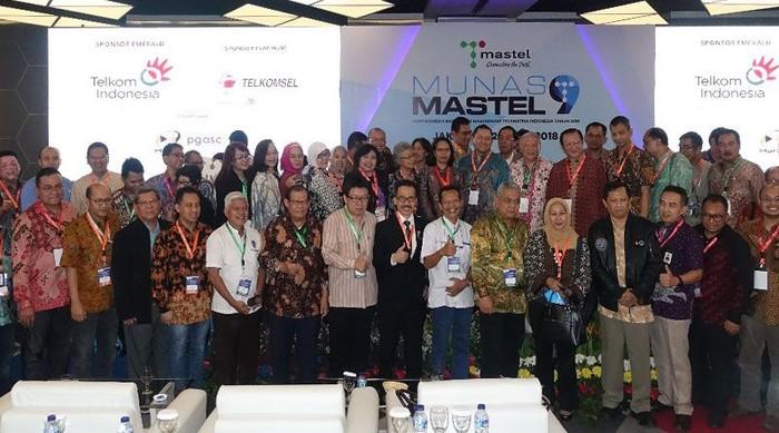Munas Mastel IX di Jakarta. Foto: Mastel