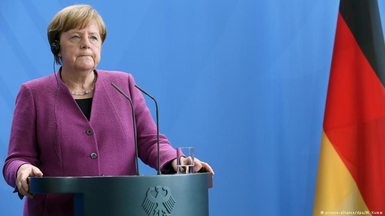 Kanselir Jerman Angela Merkel Tolak Aksi Militer ke Suriah