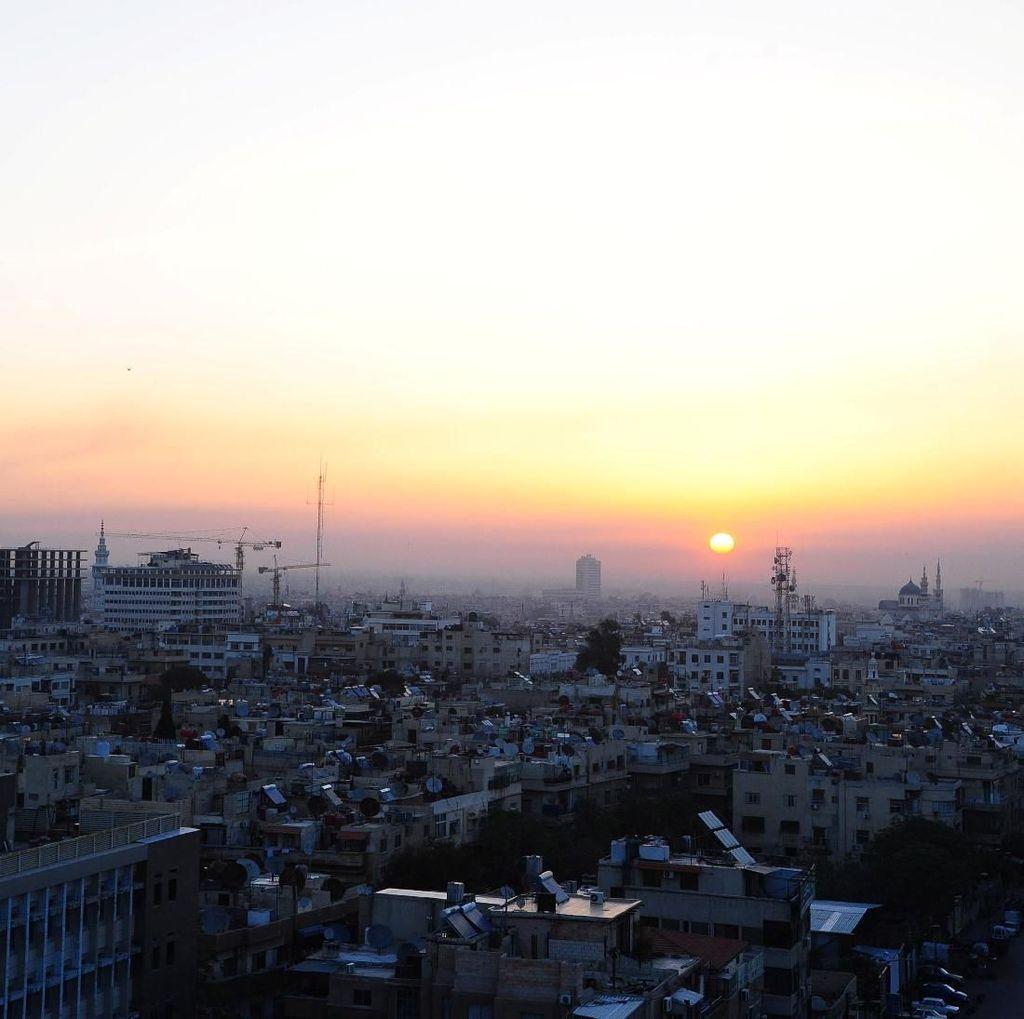 Melihat Penduduk Damaskus Merayakan Hari Raya Idul Fitri