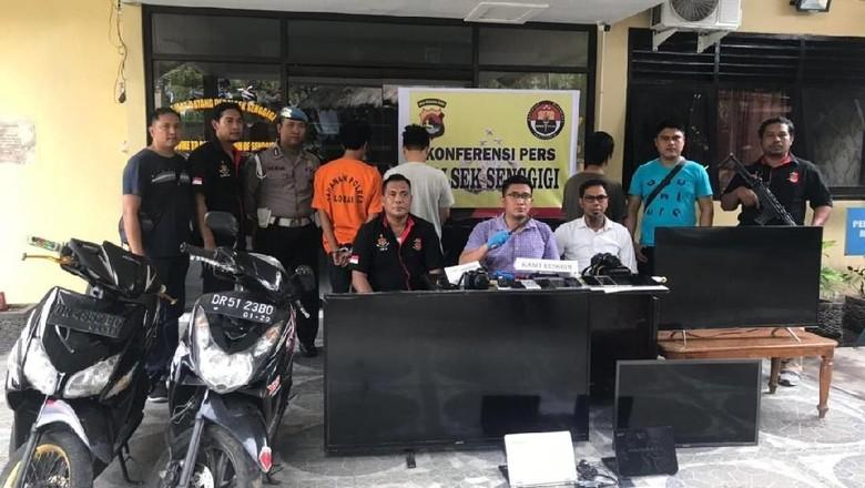 Mahasiswa di Lombok Ditangkap Terlibat Pembobolan Rumah