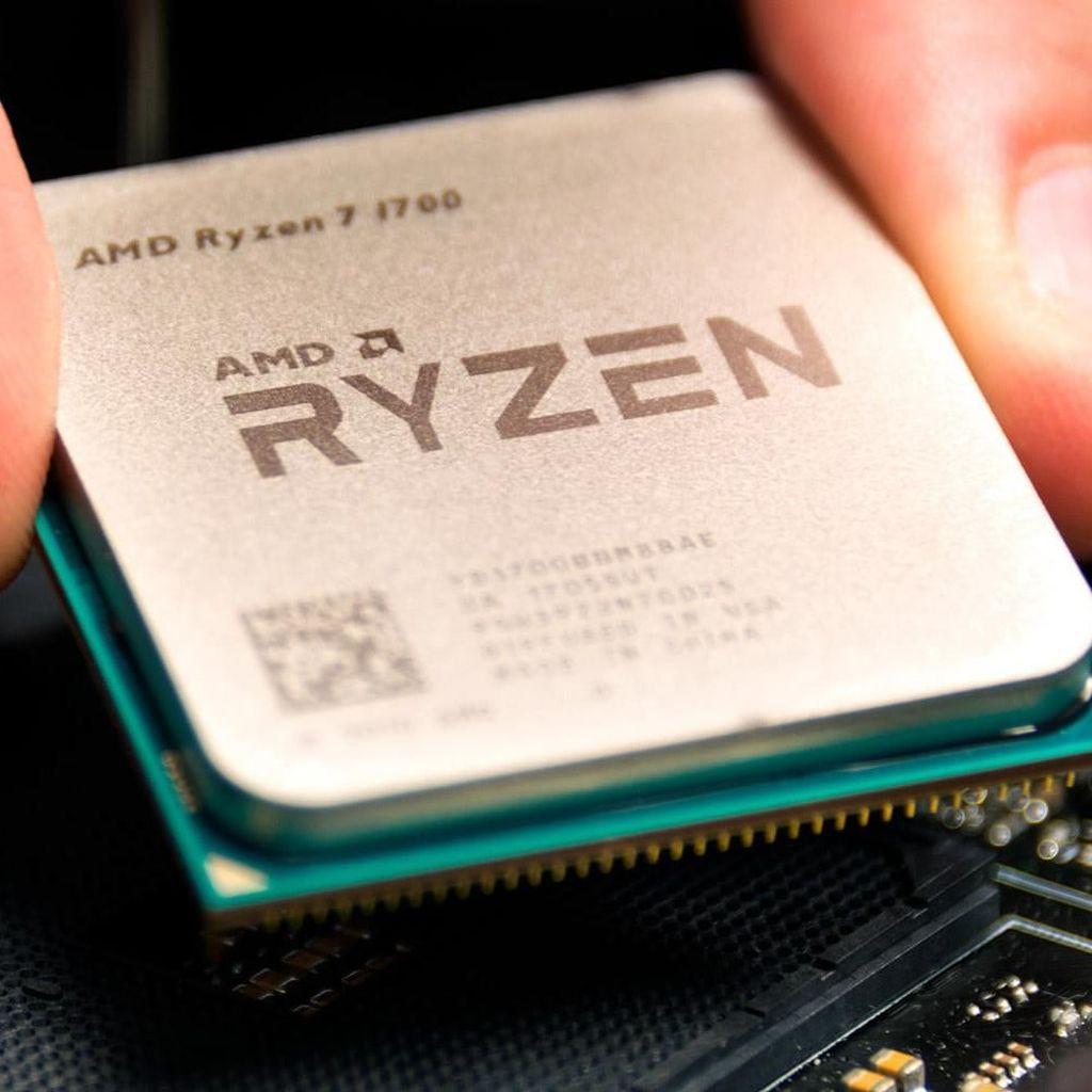AMD Luncurkan Ryzen Pesaing Intel Coffee Lake H