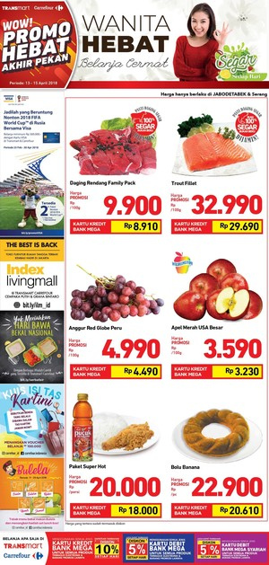 Segar di Akhir Pekan dengan Promo Buah-buahan