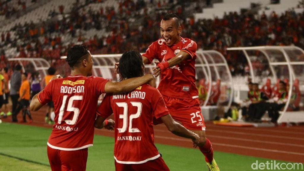 Persija Kalahkan Borneo FC Dua Gol Tanpa Balas