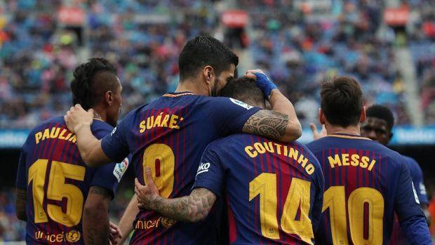 Philippe Coutinho senang Barcelona bisa langsung bereaksi positif usai tersingkir dari ajang Liga Champions.