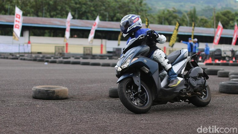 Aerox Fun Riding Competition di Yamaha Sunday Race (Foto: Yamaha)