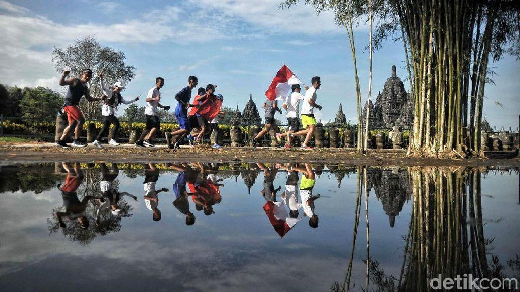 Ribuan Pelari dari 9 Negara Bakal Maraton Keliling Kawasan Candi Prambanan