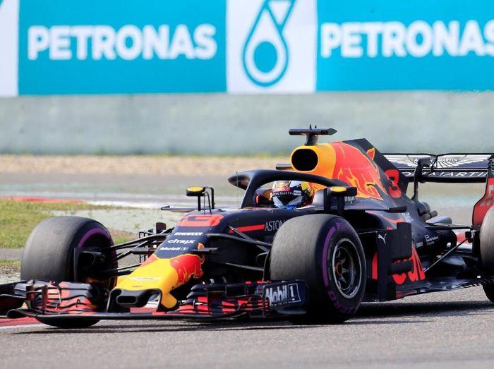 Pebalap Red Bull, Daniel Ricciardo. (Foto: Aly Song/Reuters)