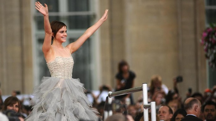 Emma Watson tak mau disebut single, ia lebih suka menyebut dirinya self partnered (Foto: Getty Images)