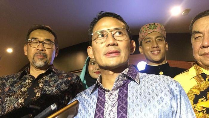 Foto: Wagub DKI Sandiaga Uno. (Indra Komara/detikcom).