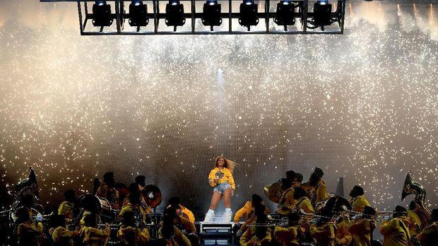 Beyonce membawakan 32 lagu per konser saat tampil di Coachella 2018.
