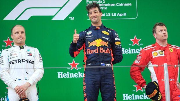 Daniel Ricciardo melewati catatan Kimi Raikkonen dan juga miliknya sendiri di latihan bebas F1 GP Monaco.