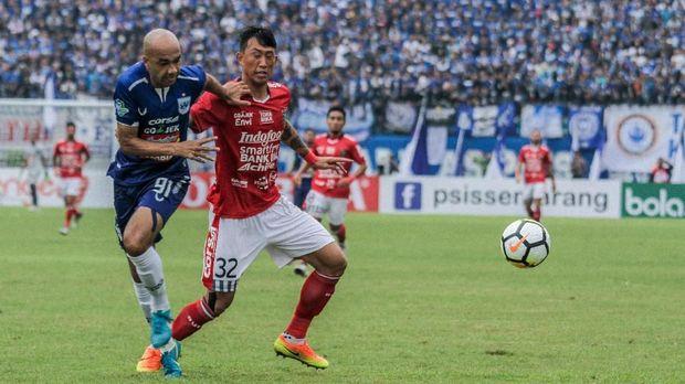 Bali United mengalahkan PSIS 2-0 di Stadion Kapten I Wayan Dipta.