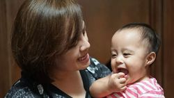 Lucunya Cara Cynthia Lamusu Menghukum Putri Kecilnya