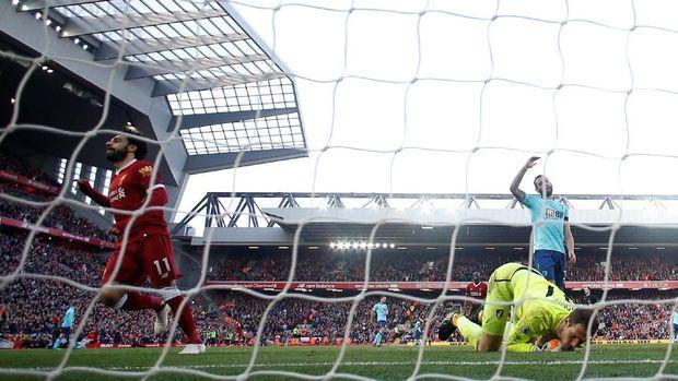 Mohamed Salah jadi pemain yang sering dibicarakan musim ini karena tampil tajam.
