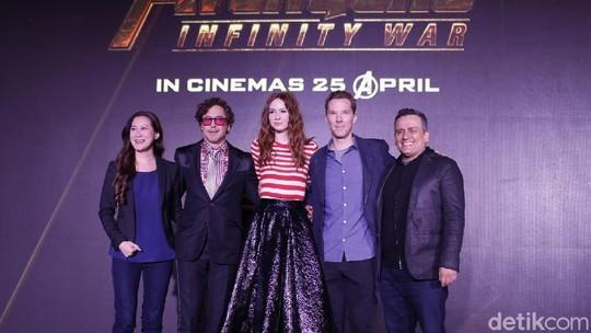 Padat Merayap Jumpa Fans Avengers: Infinity War di Singapura