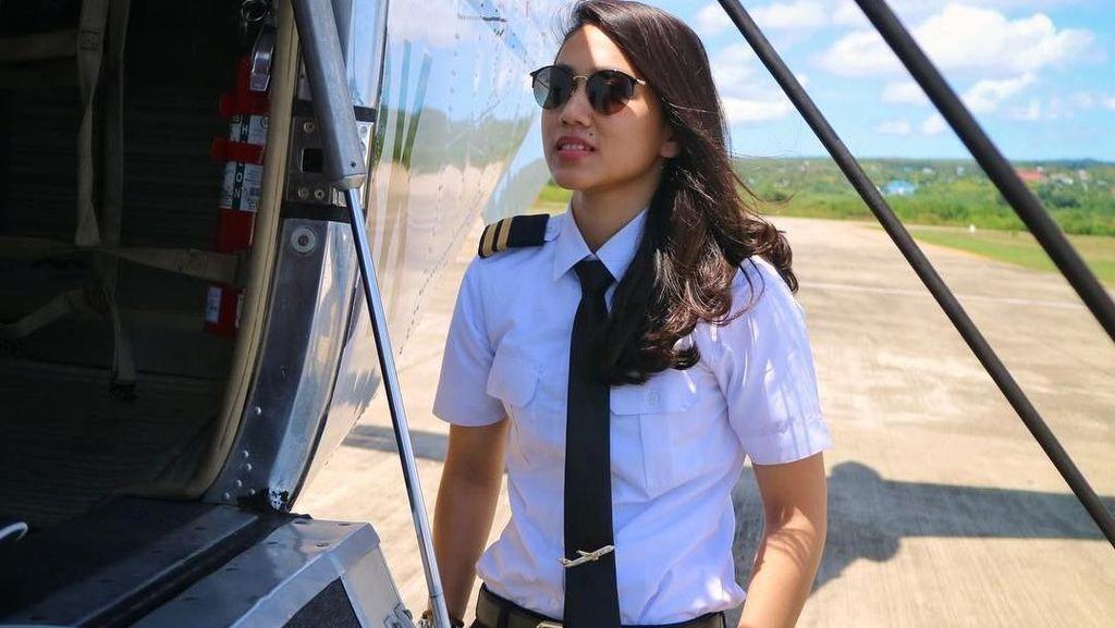 Potret Pilot Cantik Athira Farina yang Kecelakaan hingga Mobil Terbakar
