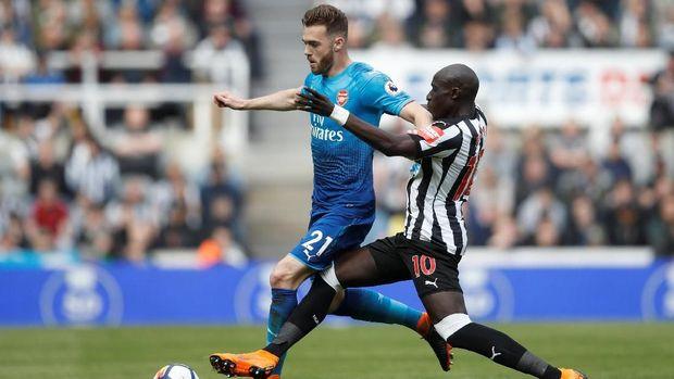 Arsenal sukses bangkit dengan meraih kemenangan 4-1 atas West Ham setelah di laga sebelumnya kalah dari Newcastle.