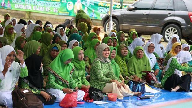 Hadiri Harlah NU, Ini Pesan Nunik untuk Warga Nahdliyin Lampung