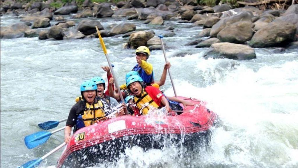 Sensasi Rafting di Sungai Elo Progo yang Seru Abis!