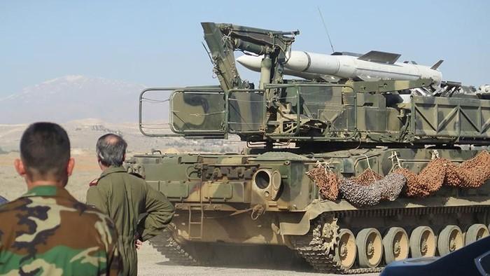 sistem pertahanan rudal Rusia - Suriah di Suriah