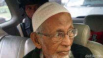 Surati Jokowi, Abu Bakar Baasyir Minta Dibebaskan karena Corona