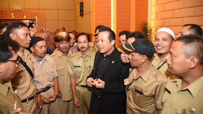 Wakil Ketua DPR Taufik Kurniawan bertemu PPDI (Dok. DPR)