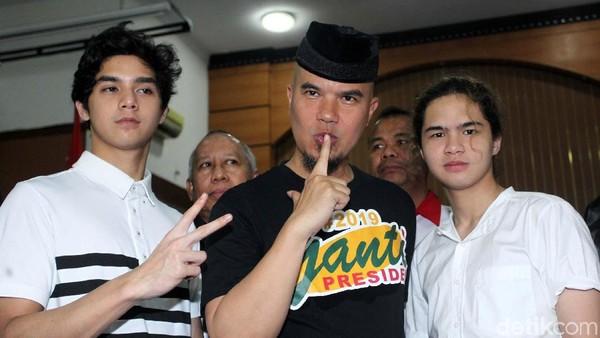 Ahmad Dhani Enggan Bocorkan Rumah yang Ingin Dijual demi Prabowo