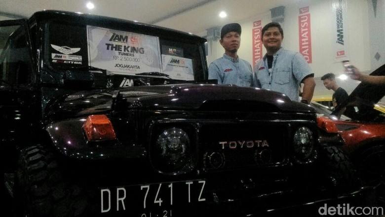 Mobil Toyota FJ40 jadi King Tuners IAM Yogyakarta. Foto: Usman Hadi