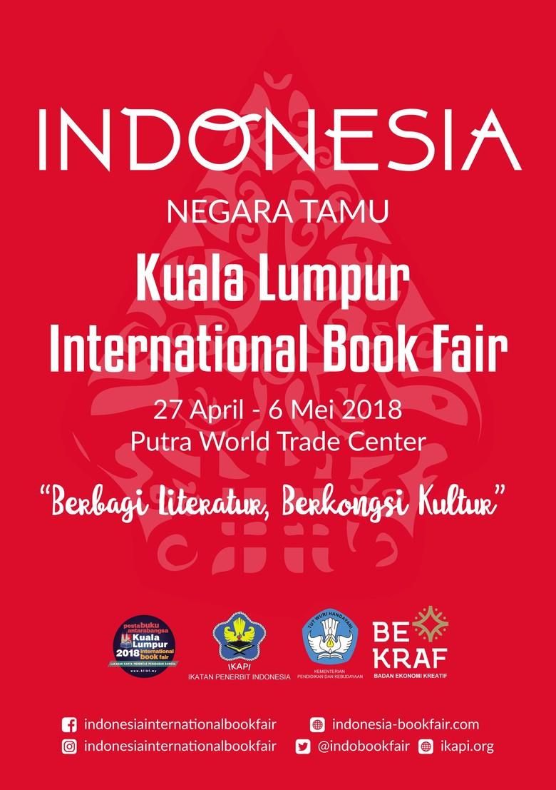 1010 Judul Buku Diboyong ke Kuala Lumpur International Book Fair 2018
