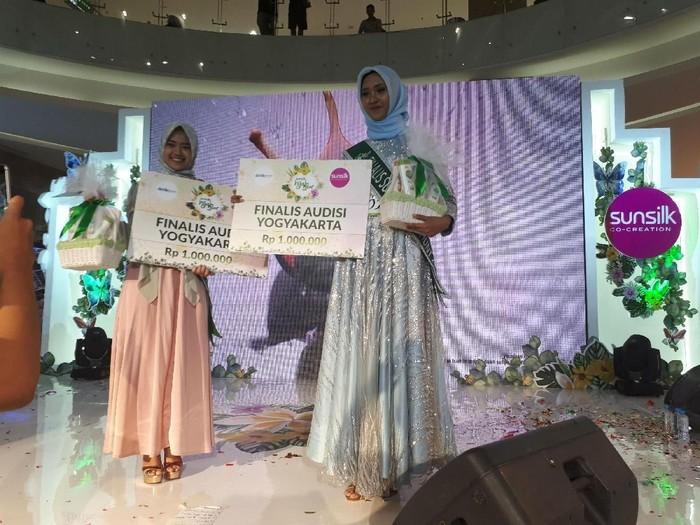Pemenang audisi Sunsilk Hijab Hunt 2018 Yogyakarta. Foto: Rahmi Anjani/Wolipop