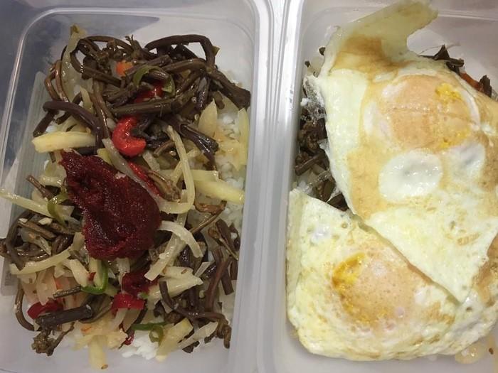 Untuk diet Yeon mengonsumsi makanan tinggi protein serta serat dari sayur dan buah. Foto: Instagram/yeonwoojhi