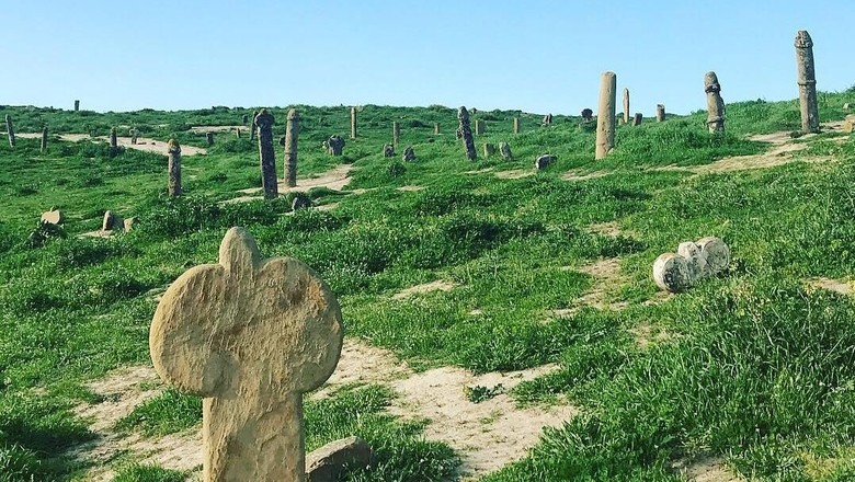 Makam misterius di Timur Tengah (Instagram)
