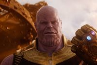Thanos di Avengers: Infinity War