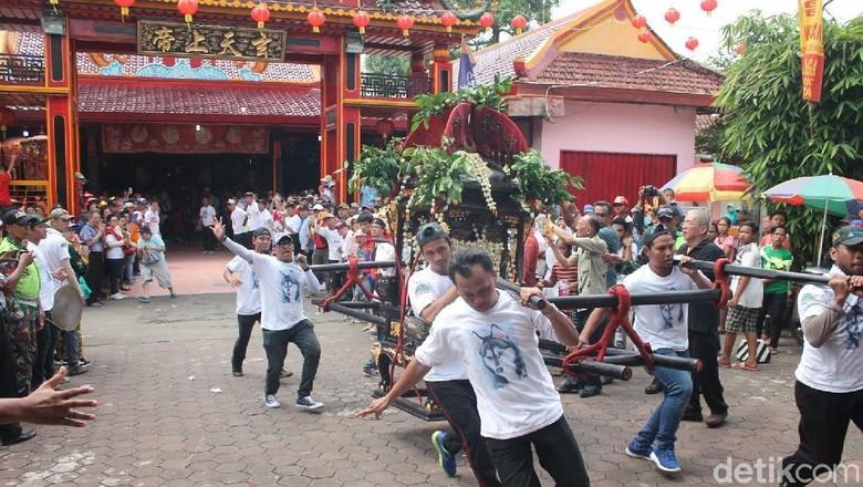 Kelenteng Welahan Ultah, Umat dari Jawa dan Sumatera Ikut Hadir