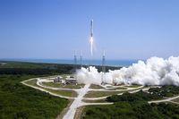 Cape Canaveral Air Station di Florida, AS, yang kerap digunakan SpaceX hingga NASA untuk meluncurkan roket.