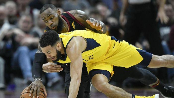 Indiana Pacers kalahkan Cleveland Cavaliers di gim pertama (David Richard-USA TODAY Sports)