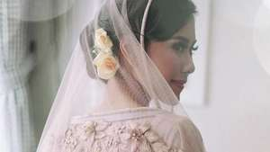 Syahnaz Sadiqah Pretty in Blue