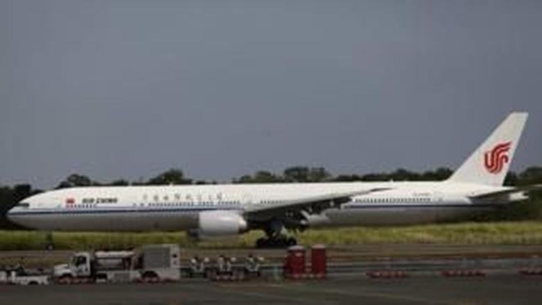 Ilustrasi Maskapai Air China (BBC)