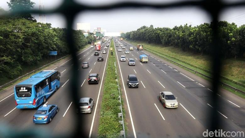 Uji Coba Ganjil Genap di Tol Tangerang