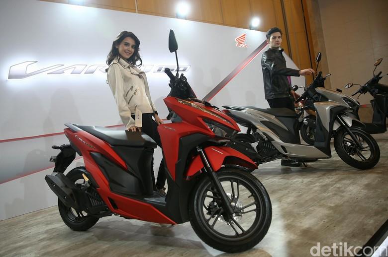 Honda Vario Foto: Agung Pambudhy