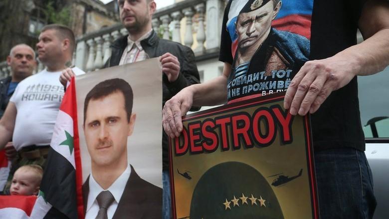 Putin: Serangan Lanjutan ke Suriah Akan Picu Kekacauan Dunia