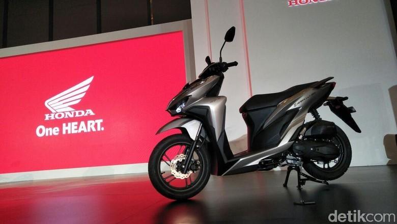 Honda Vario diluncurkan di Jakarta, Senin (16/4/2018). Foto: Ruly Kurniawan