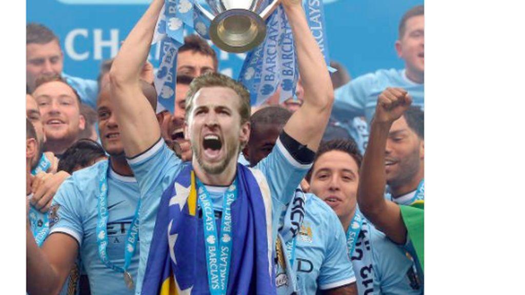 Meme Kocak Harry Kane Jawara Liga Inggris Bareng City