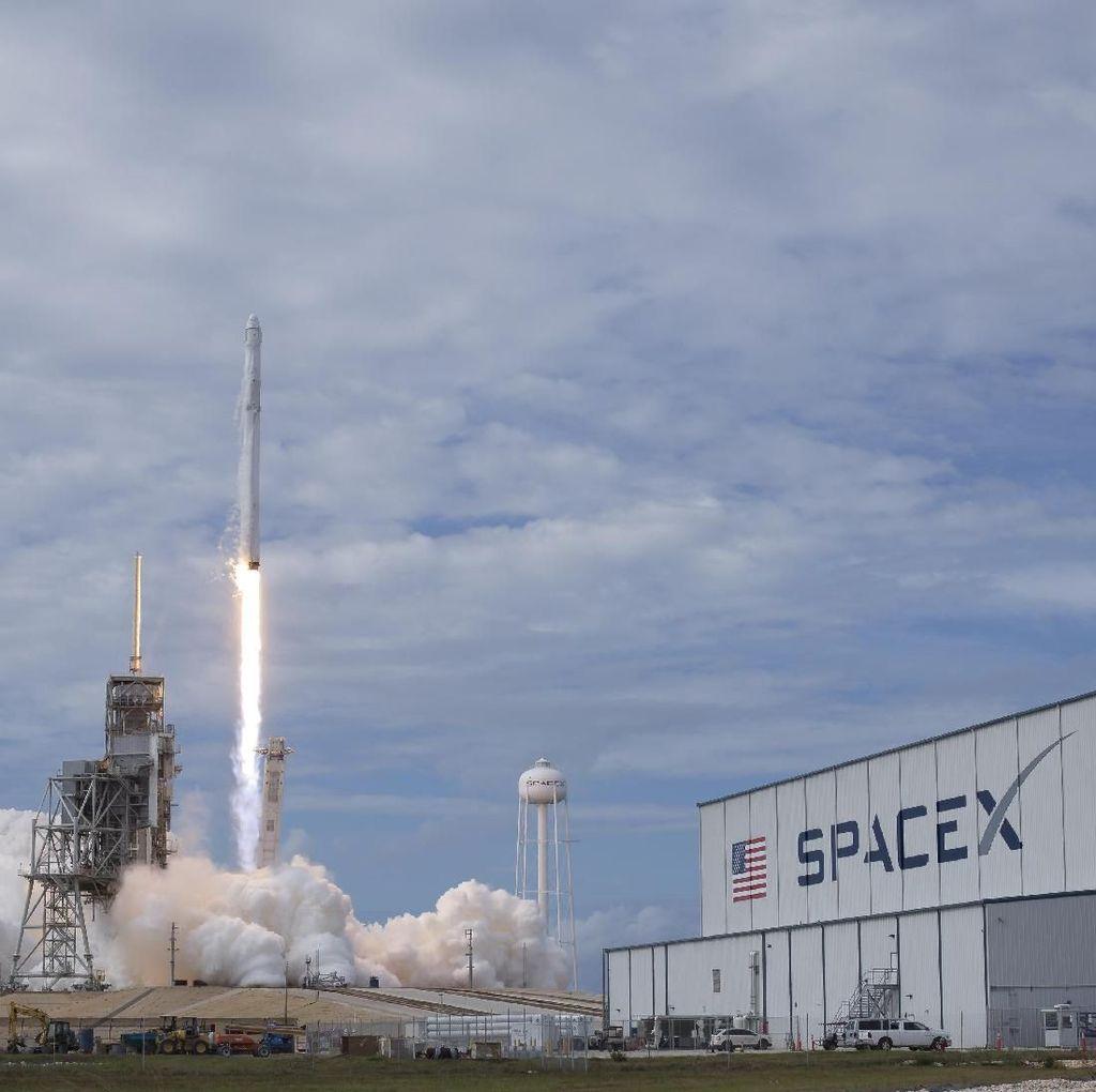 SpaceX Bikin dan Sumbang Hand Sanitizer Lawan Virus Corona