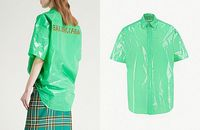 Balenciaga Rilis Kemeja dari 'Kantong Plastik Sampah' Seharga Rp 10 juta