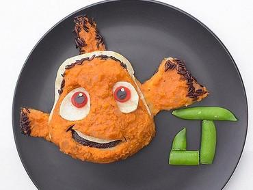 Nemo jangan pergi jauh-jauh ya, nanti dicariin ayahnya. He-he-he. (Foto: Instagram/ @jacobs_food_diaries)